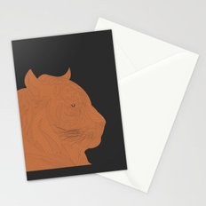All lines lead to the...Inverted Tiger Stationery Cards