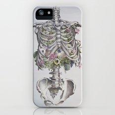 Floral Anatomy Skeleton iPhone (5, 5s) Slim Case
