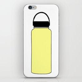 yellow hydro iPhone Skin