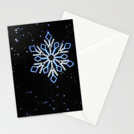 Ice Blue Light - Selective Coloring Stationery Cards