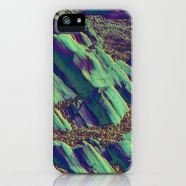 coastal pastel iPhone Case