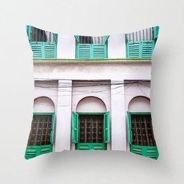 Open Windows - Kolkata Throw Pillow