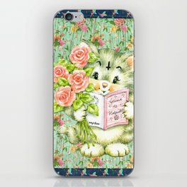 Hedgewitch cat handuct collage iPhone Skin