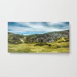 Cantabrian Mountains Metal Print