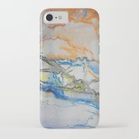 reassurance iPhone & iPod Cases featuring Abstract colors 1 by Magdalena Hristova