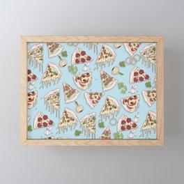 Pizza Framed Mini Art Print