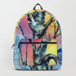 Misty Morning by Maureen Donovan Backpack