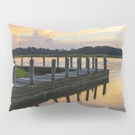 Sunset at the Denbigh Boat Ramp II Pillow Sham