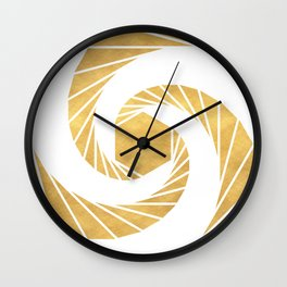 GOLDEN MEAN SACRED GEOMETRIC CIRCLE Wall Clock