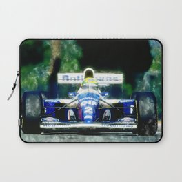 Ayrton Senna, Willams Laptop Sleeve