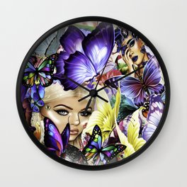 The Royal Butterfly Grounds Wall Clock