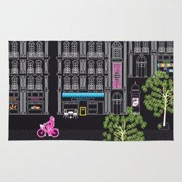 Boulevard Haussmann (dark) Rug