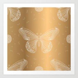 Luxury Buttefly 3 Art Print