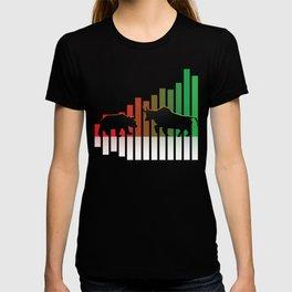 Bear VS Bull Stock Exchange Money Profit Shareholder Share Gift T-shirt