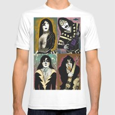 The Great Kiss MEDIUM Mens Fitted Tee White