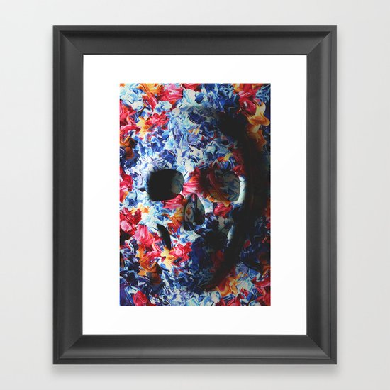 Skull (light version) Framed Art Print