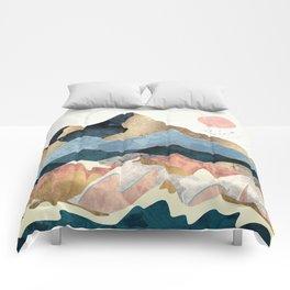 Golden Peaks Comforters