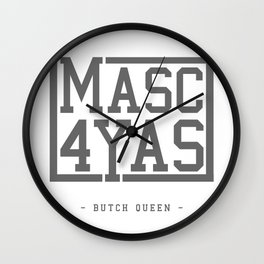 BQ - Masc4Yas Wall Clock