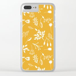 Bough to Me (Fall) Clear iPhone Case