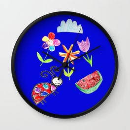 Kiddie Art Wall Clock