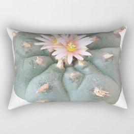 "Peyote ""Lophophora Williamsii"" Rectangular Pillow"