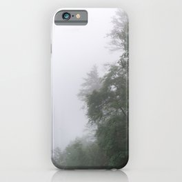 Foggy Morning in North Georgia Mountains 2 iPhone Case