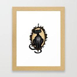 Familiar in Frame Framed Art Print