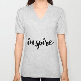 Inspire 01 Unisex V-Neck