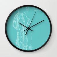 vampire weekend Wall Clocks featuring Spring Breakers/Vampire Weekend by Blake Holland