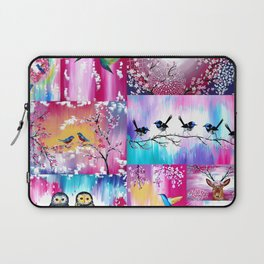 Pink collage Laptop Sleeve