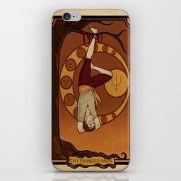 The Hanged Man iPhone Skin