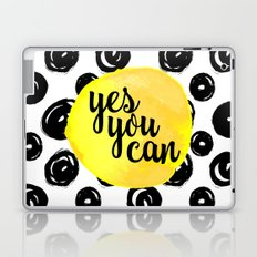 Yes You Can Quote Laptop & iPad Skin