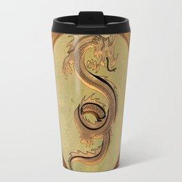 Wonderful mystical dragon Travel Mug