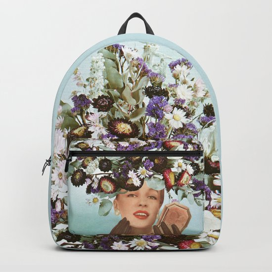 Floral Fashions III Backpack