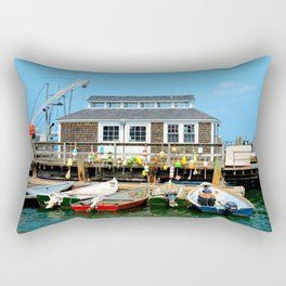 Plymouth Boat House Rectangular Pillow