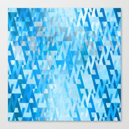 Energy Field (cool blue sky) Canvas Print