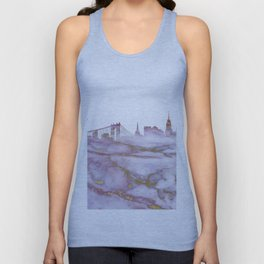 New York Skyline Unisex Tank Top