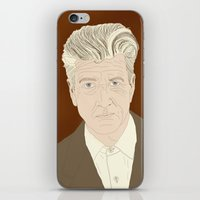 lynch iPhone & iPod Skins featuring LYNCH by Itxaso Beistegui Illustrations