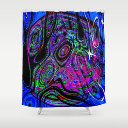 Psychedelic Universe Shower Curtain