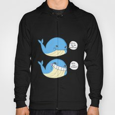 Whale you be my valentines? Hoody