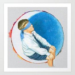 moonboy Art Print