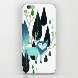 Foxy Forest iPhone Skin