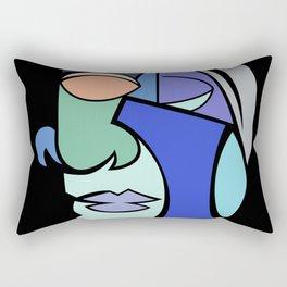 The Face 2 Rectangular Pillow