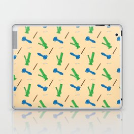 Bongs, Blunts, Joints Pattern Laptop & iPad Skin