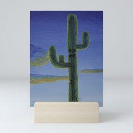 Skull Cactus Mini Art Print