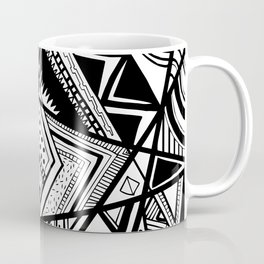 Black and White Doodle Coffee Mug