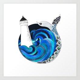 Nova Scotian Seas Art Print