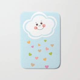 Cute Cloud Bath Mat