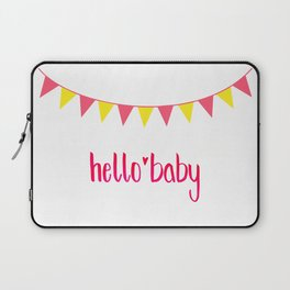 Hello Baby! It's your Birth-Day. Laptop Sleeve