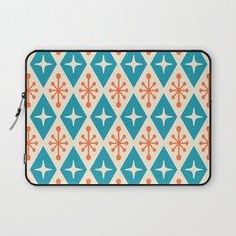 Mid Century Modern Atomic Triangle Pattern 107 Laptop Sleeve
